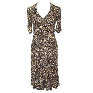 Nanette Lepore Brown Tan Dress Career